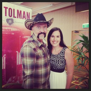 Meeting Don Tolman was amazing!